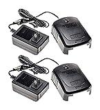 Black & Decker 18 Volt Replacement (2 Pack) Battery Charger # 90513708-2pk