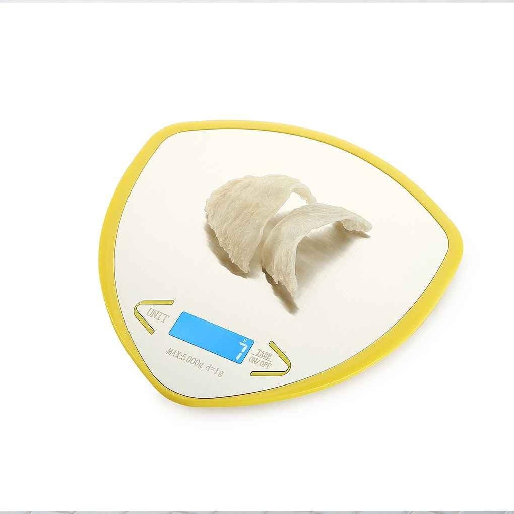 Befaith WH-B19L 5 kg / 1g Balanza de cocina digital Balanza electrónica de acero inoxidable Balanza LCD de contrapeso Banco de equilibrio: Amazon.es: ...