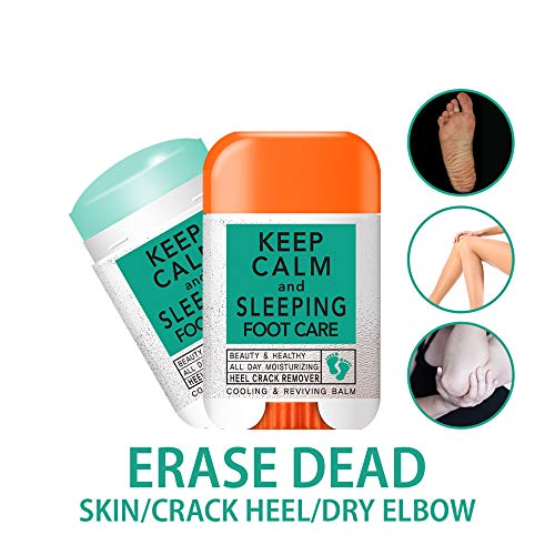 FOOT CARE STICK CREAM BY KEEP CALM AND SLEEPING FOR CRACK FOOT HEEL AND DRY ELBOW
