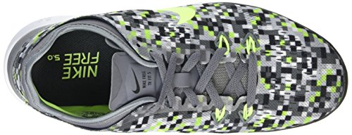 Nike Donna Free 5.0 Tr Fit 5 Scarpe Da Ginnastica Cool Grigio / Volt / Nero