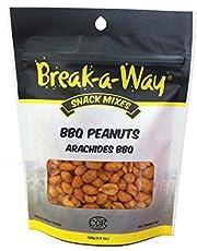 Break-A-Way Baw BBQ Peanuts, 130g