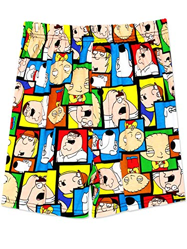 Family Guy Men's Briefly Stated Boxer Shorts Underwear (Medium, Multi)