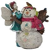 Cheap Miniature Fairy Garden Aubrey's First Snowman