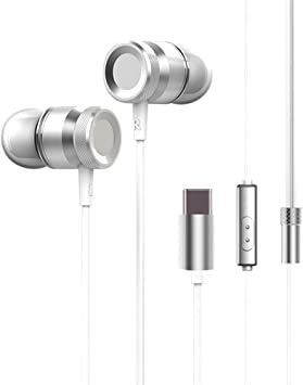 Festnight - Auriculares de Diadema con Cable USB-C para Xiaomi 6 Note 3 Mix 2 Letv LeEco Le 2 3 Smartisan Pro 2: Amazon.es: Electrónica
