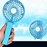 Purewill Mini Fan Portable Handheld Fan Foldable Small Fan for Home Office and Travel Anywhere You want to Take with USB charger