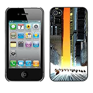 YiPhone /// Prima de resorte delgada de la cubierta del caso de Shell Armor - Akira Squad - iPhone 4 / 4S