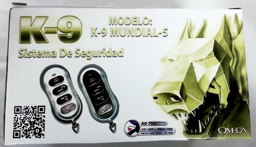 K9 Mundial 5 Vehicle Security Keyless Anti Carjack Basic Facts