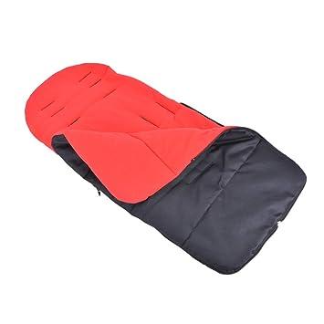 Tutmonda Invierno Universal Bebé Infantil Cochecito Sleeping Bunting Bag Saco de dormir Niño pequeño Nido Usable Manta Mantener caliente Multifuncional ...