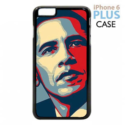 Barack Obama Apple iPhone 6 PLUS PLASTIC cell phone Case / Cover Great Gift Idea