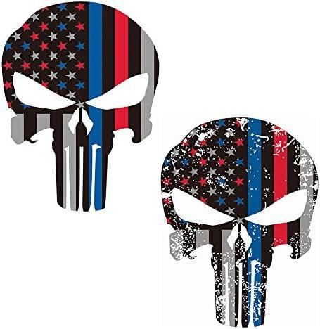 Bandera de Estados Unidos de vinilo pegatinas de vinilo, Towee 5 ...