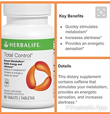 herbalife Total Control® Original 90 Tablets.(one Tablet Three Times per Day)