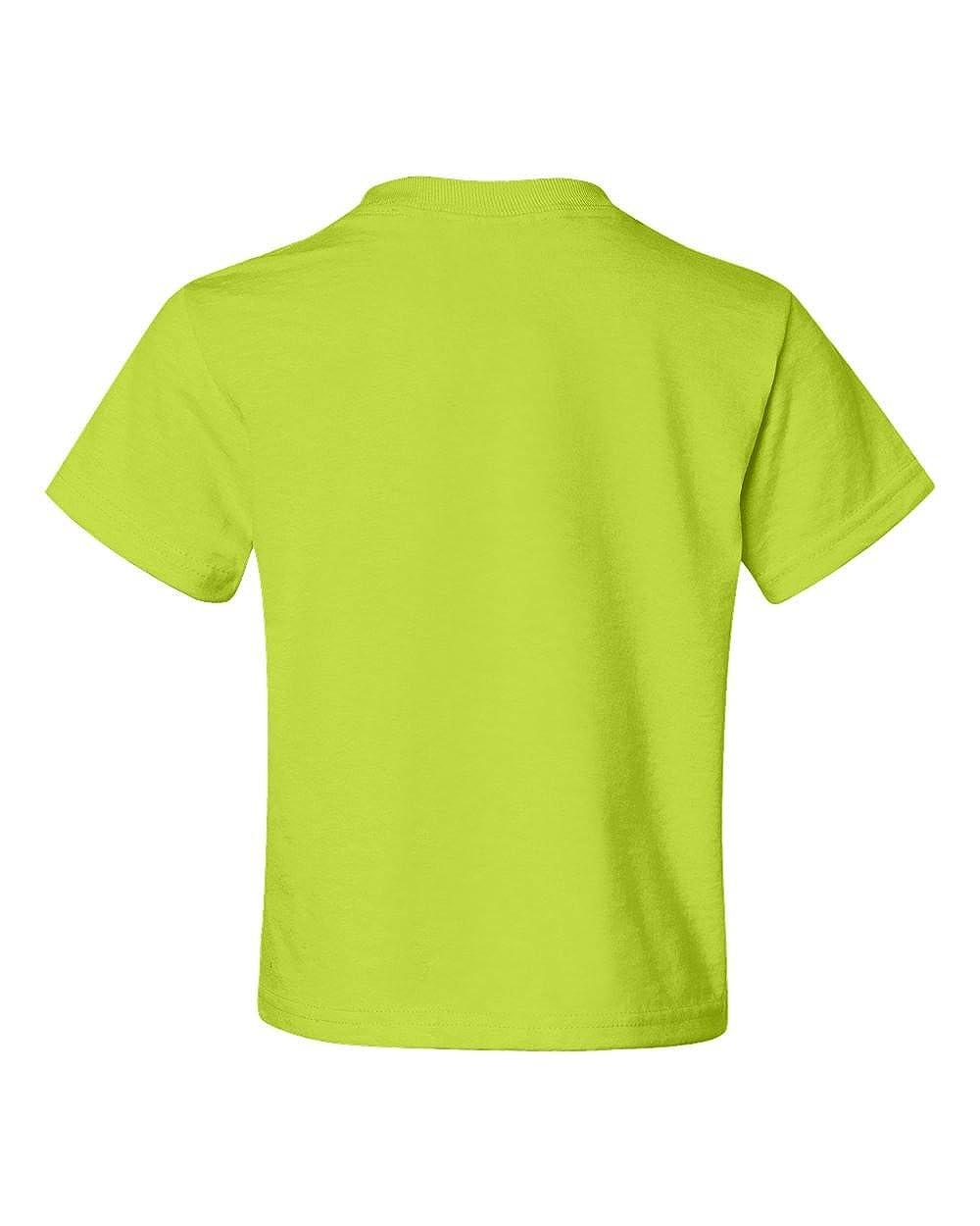 Jerzees Big Boys Rib Collar Tear Away Label T-Shirt