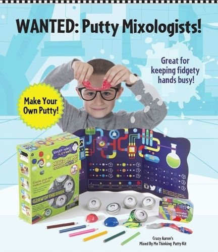 Crazy Aaron's MIXED BY ME - GLOW Kit Thinking Putty Kit CREATE YOUR OWN DIY mix by Crazy Aaron's Thinking PUTTY (Image #2)