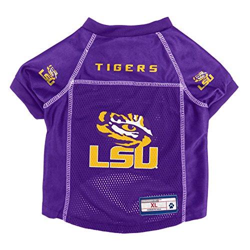 - Littlearth NCAA LSU Tigers Pet Jersey, XL