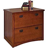 Martin Furniture Mission Pasadena 2-Drawer Lateral File Cabinet
