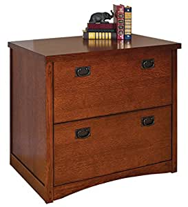 kathy ireland Home by Martin Mission Pasadena 2-Drawer Lateral File Cabinet - Fully Assembled
