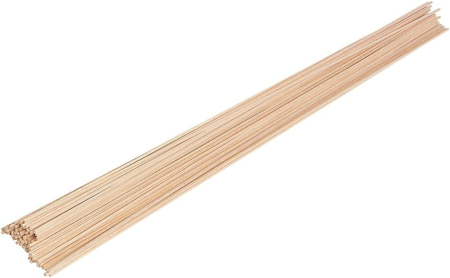 Pack of 50 Pitsco Education 52734 Balsa Wood 1//8 x 1//8 x 36