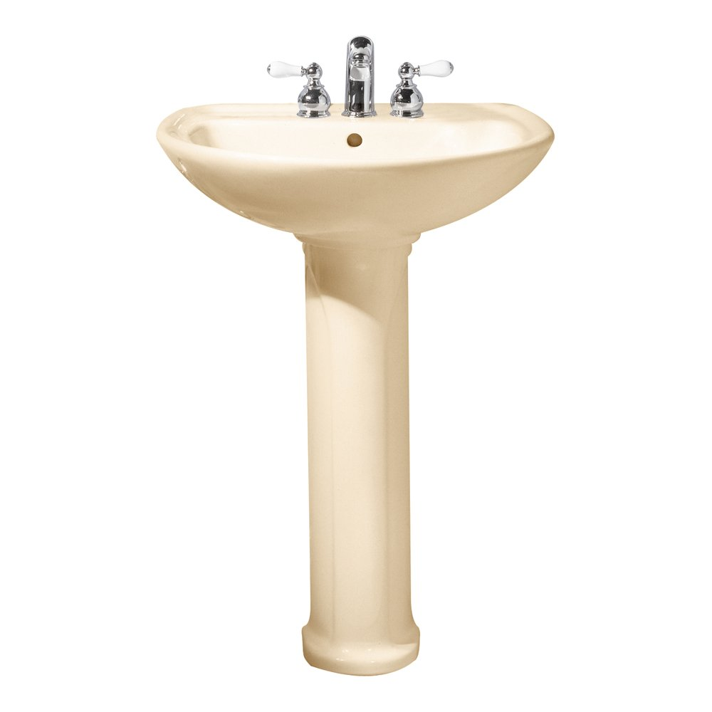 American Standard 0236.411.021 Cadet Pedestal Top and Leg with 4 ...