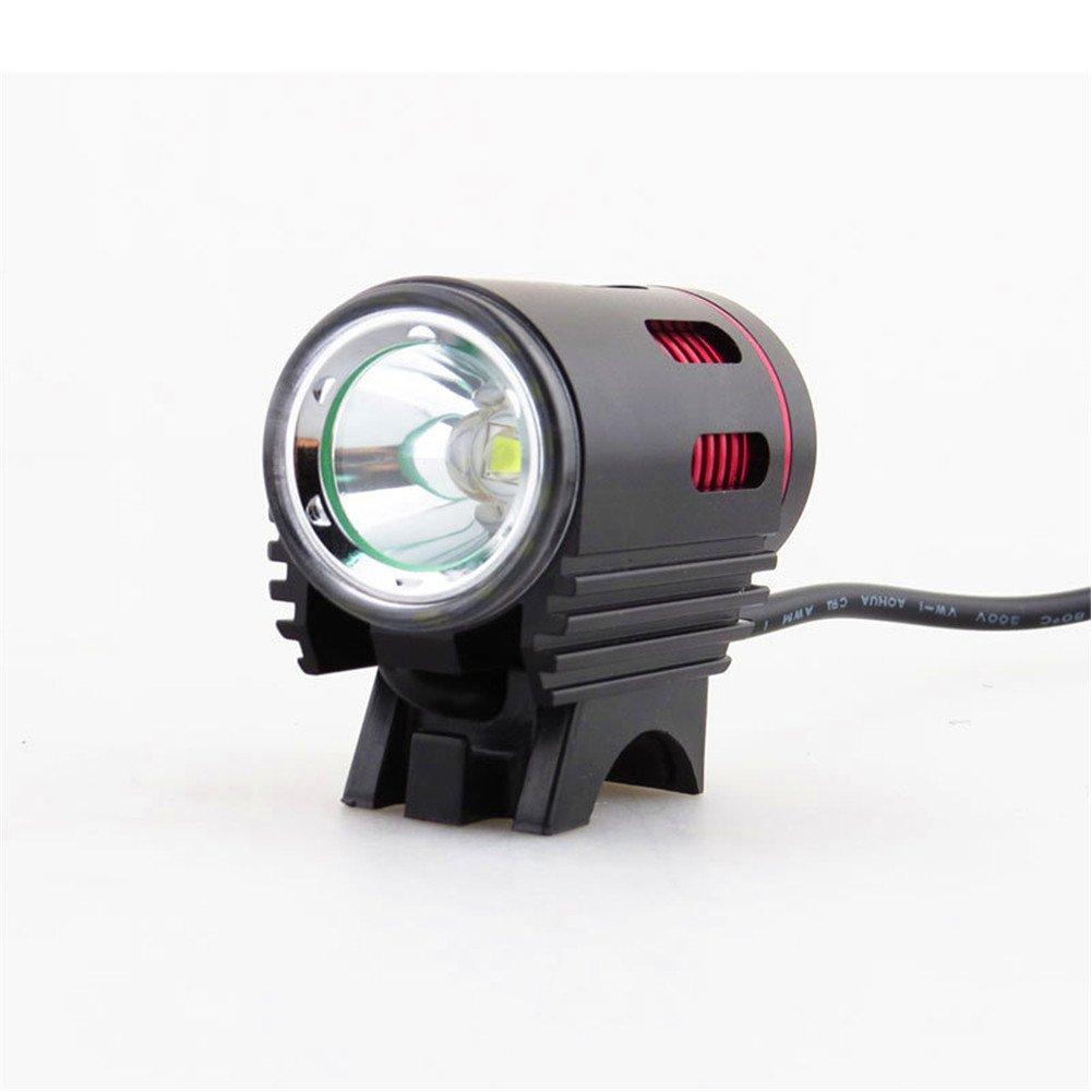 Amadoierly Luz de Bicicleta Mini Xm-L2 1200Lm Luces de Bicicleta de montaña