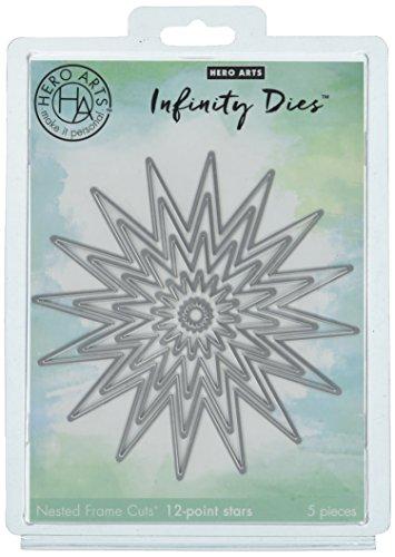 Hero Arts DI403 Infinity Dies, 12-Points Stars ()