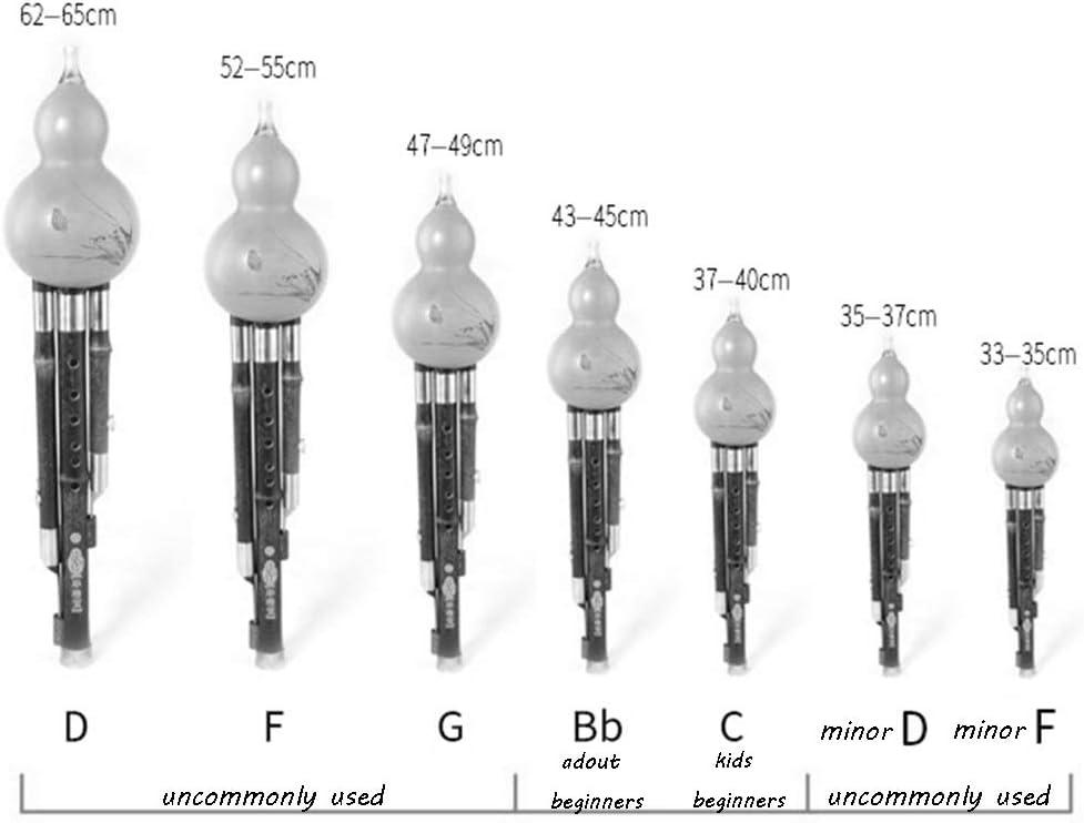 B Flat Color : C F Flautas Hulusi Hulusi Natural Redwood Hulusi Rendimiento Profesional Hulusi Agudos Hulusi Flauta Clave de C G