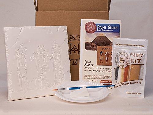 Art In History EDU002 Hands-On History King TUT Tile (Best Kings In History)