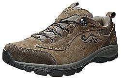 XIANG GUAN Men's Mesh Propitious Clouds Outdoor Walking Shoes Brown 9
