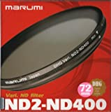Marumi 72mm 72 DHG Vari ND ND2 to ND400 400 Neutral Density Fader Filter Japan Digital High Grade