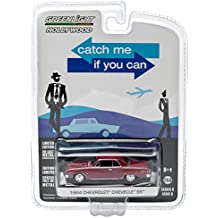 1964 CHEVROLET CHEVELLE SS from the classic Tom Hanks film CATCH ME IF YOU CAN Greenlight Collectibles 1:64 Scale * GL Hollywood Series 8 * Die Cast Vehicle