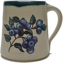 Great Bay Pottery Blueberries Coffee Mug