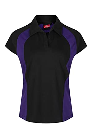 School Uniform 365 - Polo - para niña Negro y Morado X-Large ...