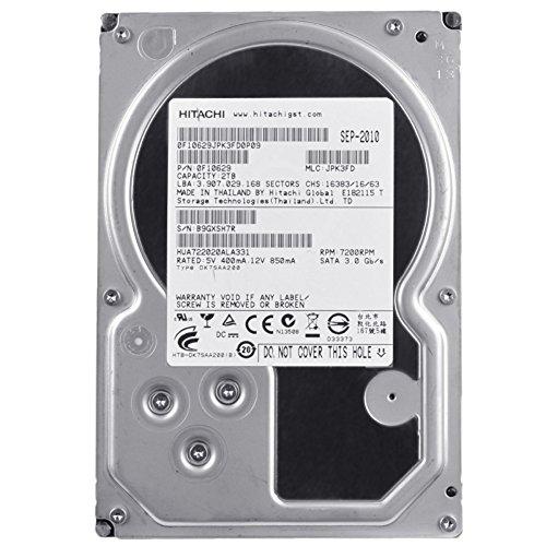 Hitachi Ultrastar A7K2000 2TB 3Gb/s SATA 7200RPM 32MB Internal HDD Hard Drive (Certified Refurbished)