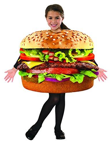Funny Baby Food Costumes (Forum Novelties Kids Hamburger Costume, One Size)