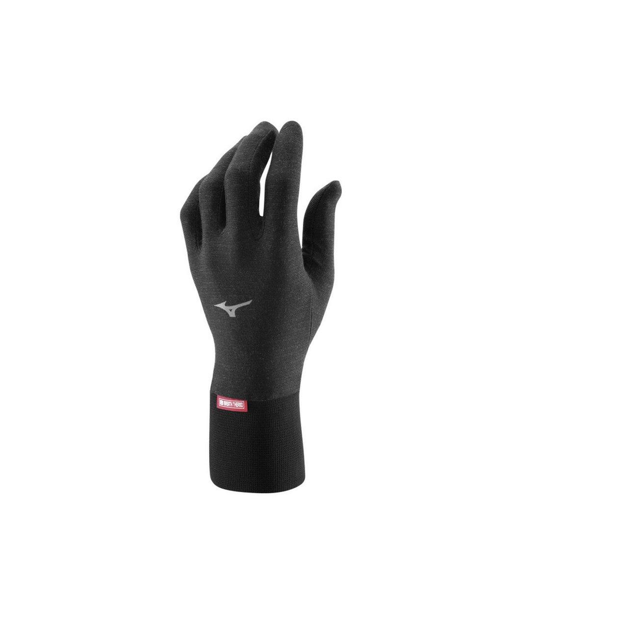 Mizuno Breath Thermo Light Weight Glove Black