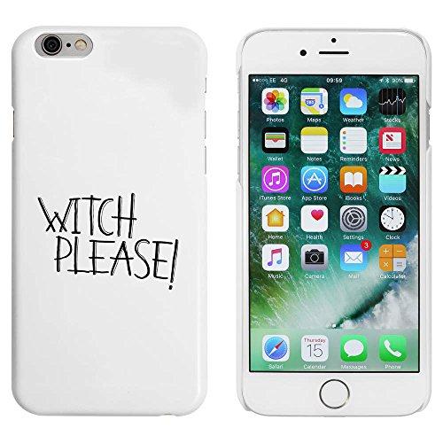 Blanc 'Witch Please' étui / housse pour iPhone 6 & 6s (MC00043862)