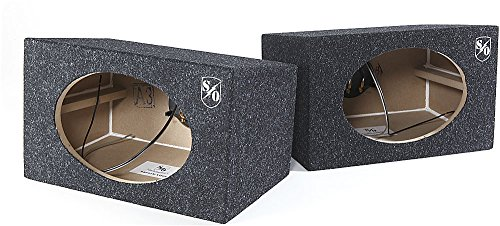 Sound Ordnance BB692W 6x9 Wedge Box Pair