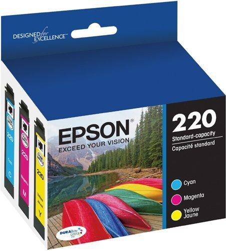 2 X  DURABrite Ultra Standard-Capacity Ink Cartridge, Color Multipack () - Epson T220520