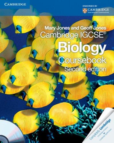 Cambridge IGCSE Biology Coursebook with CD-ROM (Cambridge International Examinations)