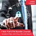 Zyxel Complete UTM Security Bundle Subscription License (1 Year) for USG60 | USG60W