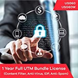 Software : Zyxel Complete UTM Security Bundle Subscription License (1 Year) for USG60 | USG60W