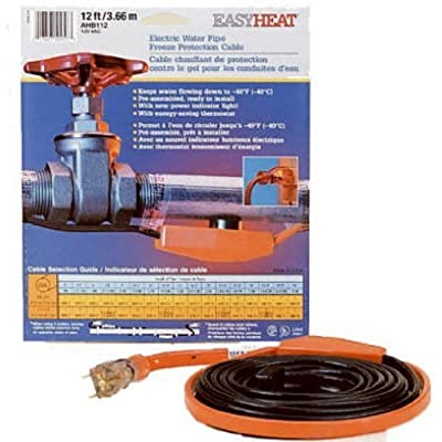 Easy Heat AHB-140 Cold Weather Valve and Pipe Heating Cable, 40-Feet Size: 40-Feet, Model: AHB-140, Outdoor & Hardware Store