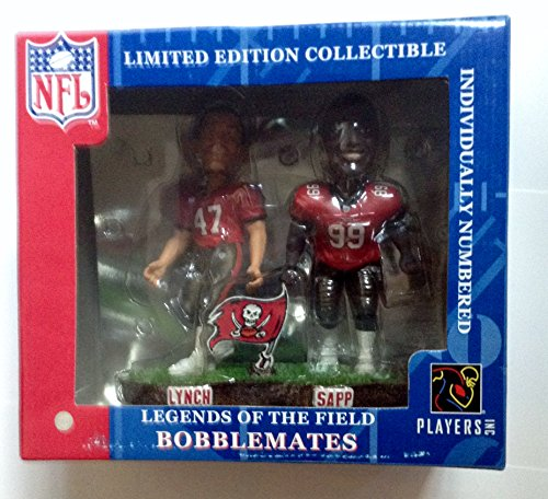 Tampa Bay Buccaneers Sapp & Lynch Forever Collectibles Bobble Mates