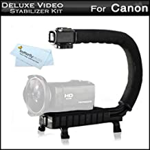 Professional Camera / Camcorder Action Stabilizing Handle For Canon VIXIA HF R700, HF R72, HF R70, HF R62, VIXIA HF R60, VIXIA HF R600, HF R52, HF R50, HF R500, HF G40, HF G30, HF G20 HD Camcorder