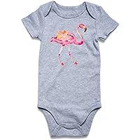 Cutemefy Baby Boys Girls Romper Jumpsuit Long Sleeve Bodysuits Infant Funny Onesie (Size 0-18 Months)
