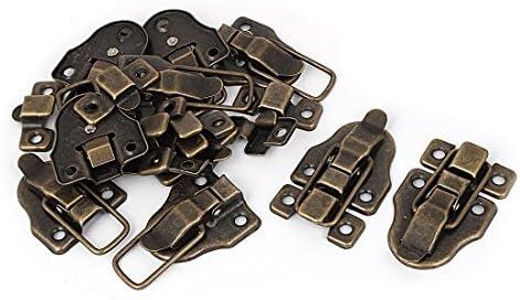 10 piezas cierre de broche para caja de madera, caja de bronce ...