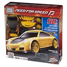 Mega Bloks Need for Speed Porsche 911 GT3 RS, Yellow