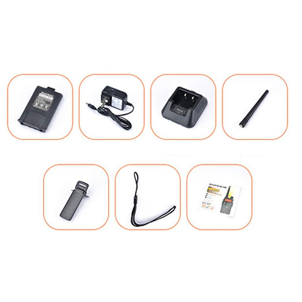 LGFA 5W Power Civil walkie-Talkie 128 Channels interphone Wireless 1-15 km Signal Reception 1800 mAh high Capacity Lithium Battery by LGFA (Image #7)