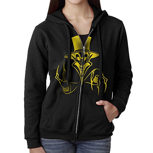 Insane Clown Posse Ringmaster Full Zip Hoodie Kangaroo Pocket For Women