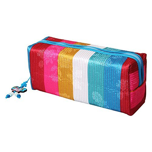 Rectangle-pouch-Blue-Koarea-traditional-pencilcase-Cosmetic-Pouch-souvenir
