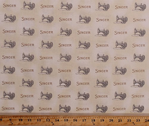sewing machine print fabric - 5